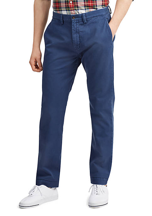 Polo Ralph Lauren Classic Fit Cotton Chino Pants