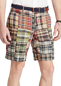 Polo Ralph Lauren Classic Fit Madras Shorts