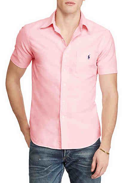 Polo Ralph Lauren Short-Sleeve Oxford Shirt ...