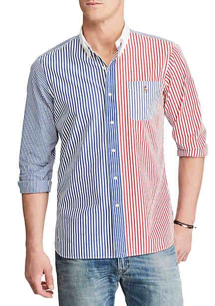 Shirt for Women On Sale, Sky Blue, Cotton, 2017, USA 4 - IT 40 USA 10 - IT 46 Ralph Lauren