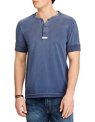 Jersey Shirt Jersey Cotton Henley Cotton Henley Shirt Cotton YIg76ybfv