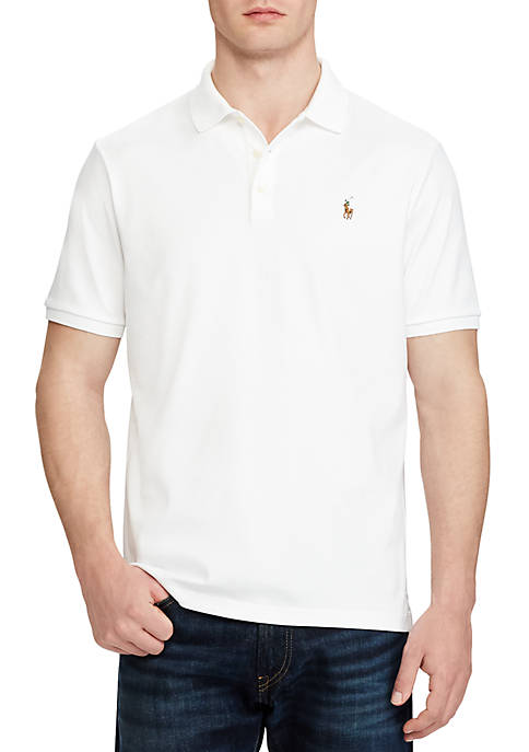Classic Fit Soft Cotton Polo