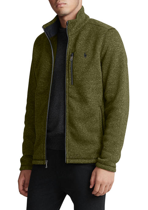 Polo Ralph Lauren Fleece Mockneck Jacket