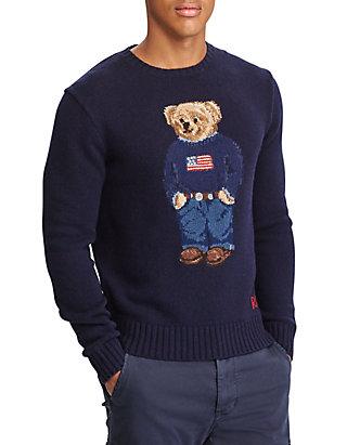 b7bab3e725588 Polo Ralph Lauren. Polo Ralph Lauren The Iconic Polo Bear Sweater