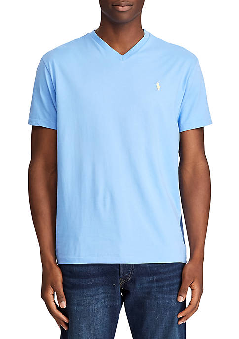 Polo Ralph Lauren Classic Fit Cotton Jersey V-Neck