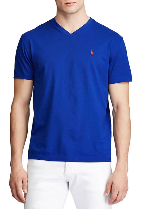 Polo Ralph Lauren Classic Fit Cotton V-Neck T-Shirt