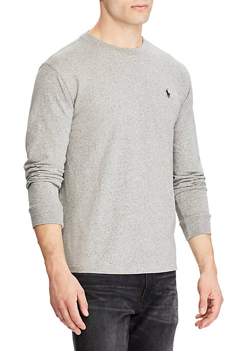 Polo Ralph Lauren Classic Fit Long-Sleeve Cotton T-Shirt