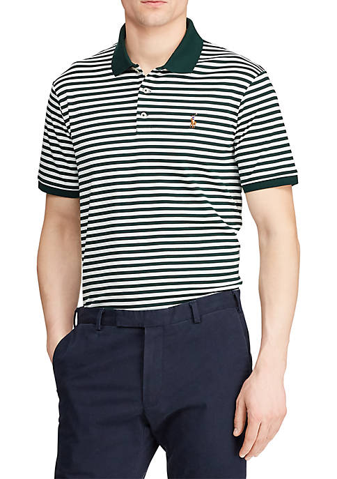 Classic Fit Interlock Polo Shirt