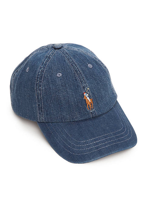 Polo Ralph Lauren Classic Medium Wash Chino Cap