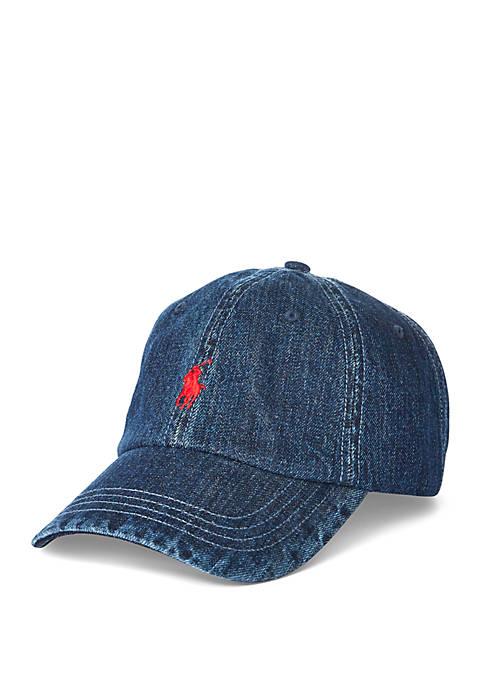 Polo Ralph Lauren Denim Baseball Cap
