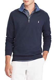Luxury Jersey Half Zip