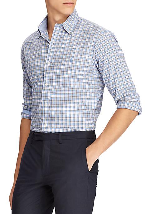 Cheap Polo Ralph Lauren Long Sleeve Stretch Poplin Shirt