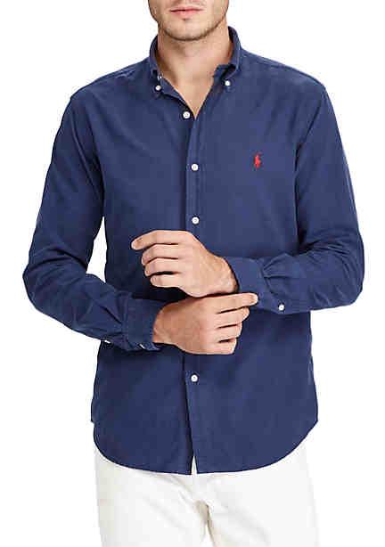 Polo Ralph Lauren GD Oxford Long Sleeve Sport Shirt ...