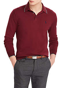 Cotton Polo Sweater