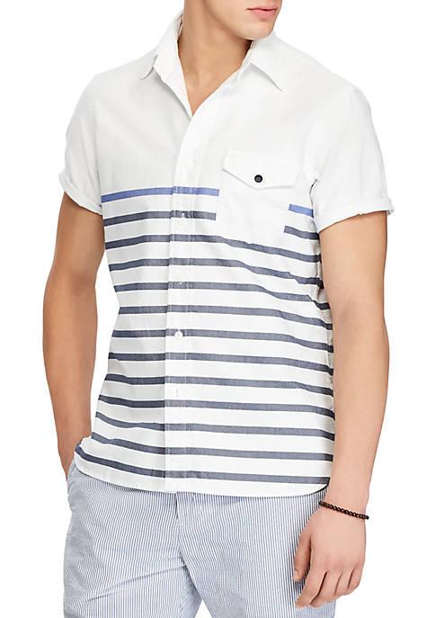 Polo Ralph Lauren Classic Fit Cotton Sport Shirt hot sale