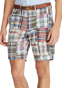 Classic Fit Madras Shorts