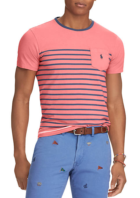 Polo Ralph Lauren Classic Fit Striped Jersey Crew