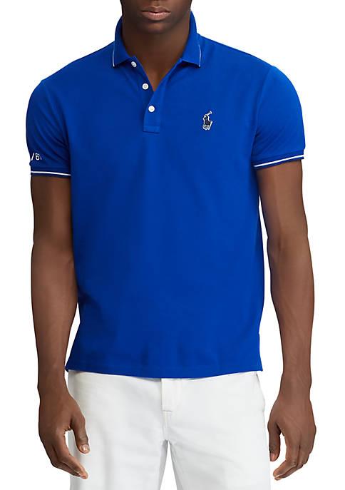 Polo Ralph Lauren Classic Fit Piqu Polo Shirt free shipping