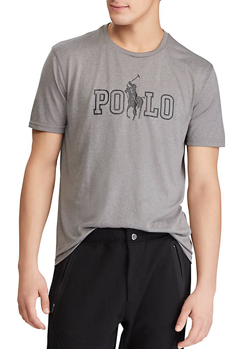 Polo Ralph Lauren Short Sleeve Perforated Graphic Tee
