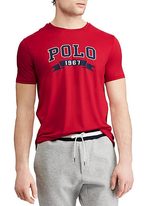 Polo Ralph Lauren Short Sleeve Performance Graphic Tee