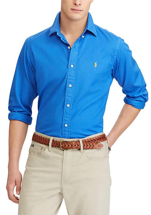 Discount Polo Ralph Lauren Classic Fit Cotton Shirt for cheap
