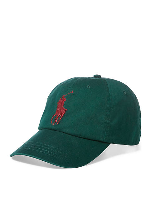 Polo Ralph Lauren Big Pony Green College Cap