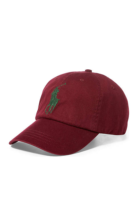Polo Ralph Lauren Big Pony Cap- Classic Wine