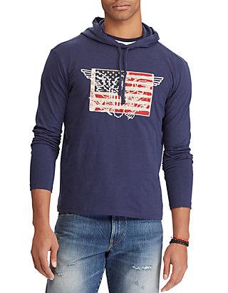 f06c291eec7 Polo Ralph Lauren. Polo Ralph Lauren Cotton Jersey Hooded T-Shirt