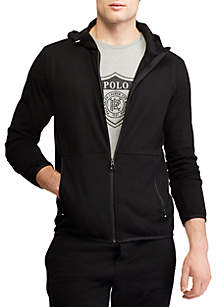 Active Fit Cotton-Blend Hoodie