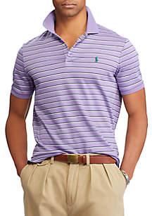 Custom Slim Fit Jersey Polo Shirt
