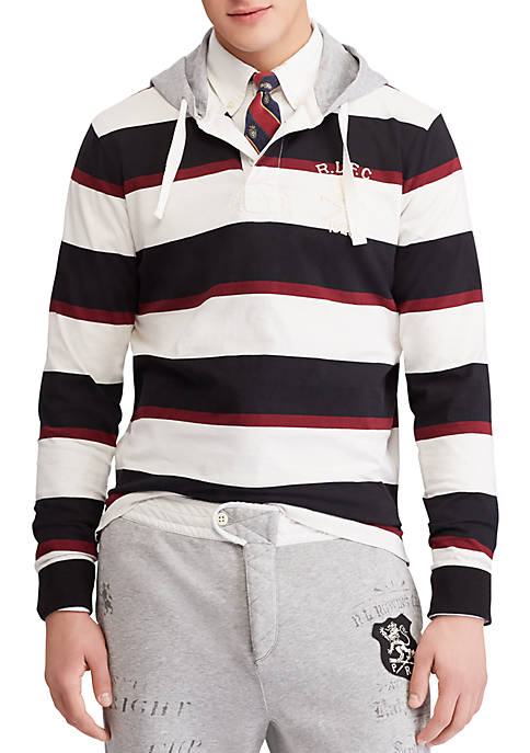 Polo Ralph Lauren Cotton Hooded Rugby Shirt