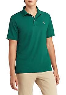 Classic Fit Jersey Polo Shirt