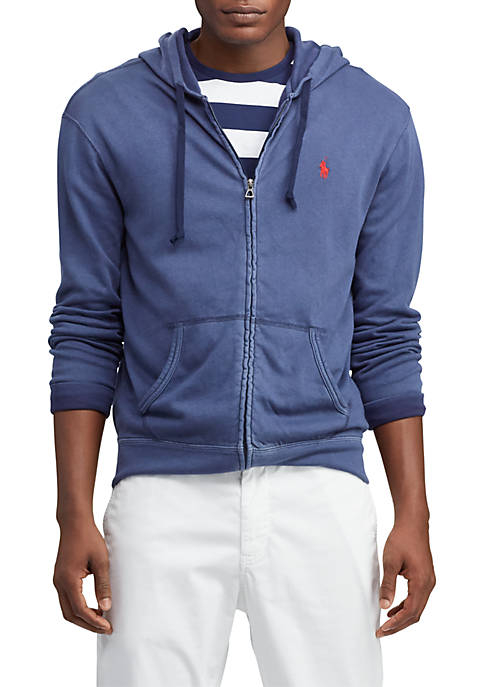 Spa Terry Cotton Hoodie
