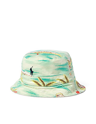5bd01e3b323 Polo Ralph Lauren. Polo Ralph Lauren Reversible Tropical Bucket Hat