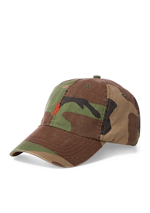 Polo Ralph Lauren Camo Cotton Chino Cap