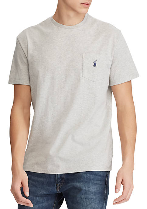 Polo Ralph Lauren Classic Fit Cotton Pocket T-Shirt