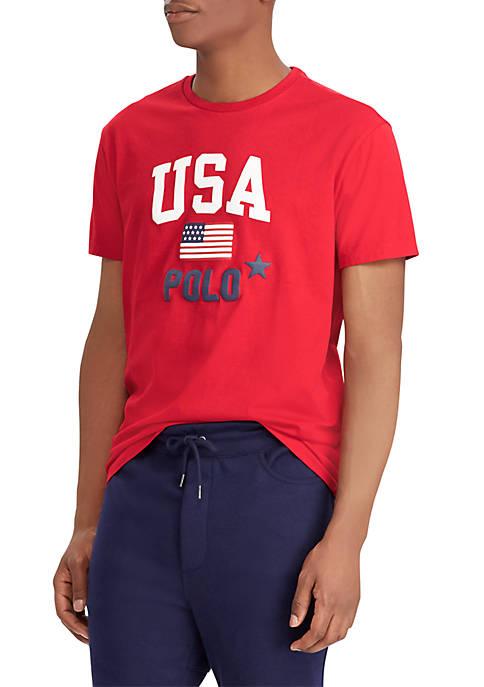 Discount Polo Ralph Lauren Classic Fit Cotton T-Shirt