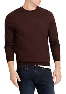 Washable Merino Wool Crewneck Sweater