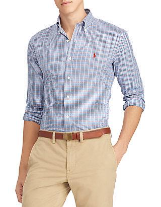 b5ec2a5f Polo Ralph Lauren. Polo Ralph Lauren Classic Fit Plaid Twill Shirt