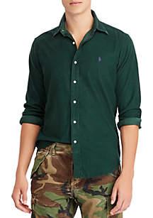 Classic Fit Corduroy Shirt