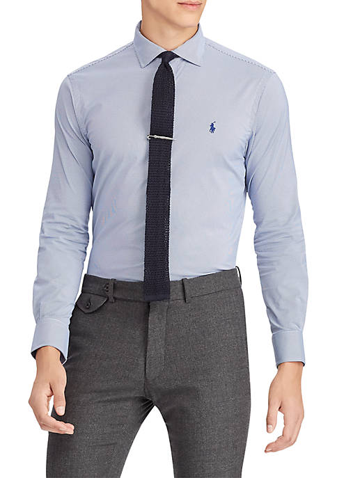 Polo Ralph Lauren Classic Fit Plaid Performance Twill