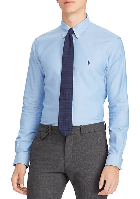 Polo Ralph Lauren Classic Fit Plaid Performance Oxford