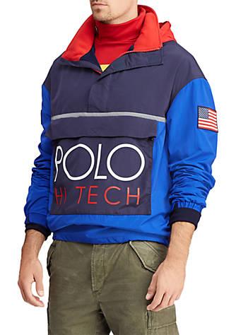 Color Hi Pullover Tech Blocked Polo Ralph Lauren 8nwPOkX0