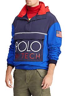 Hi Tech Color-Blocked Pullover