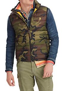 Camo Packable Down Vest