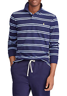 Custom Slim Long-Sleeve Polo Shirt