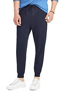 Double-Knit Cotton-Blend Jogger