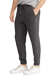 Double-Knit Cotton-Blend Jogger