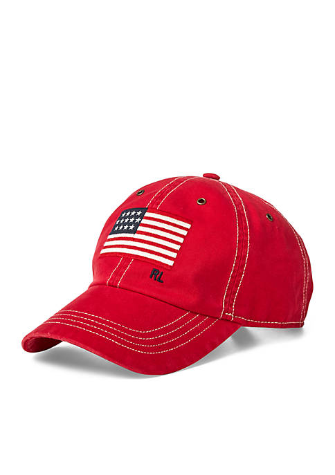 Polo Ralph Lauren Flag Chino Baseball Cap