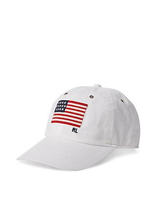 700df12e4e5fa Polo Ralph Lauren Flag Chino Baseball Cap